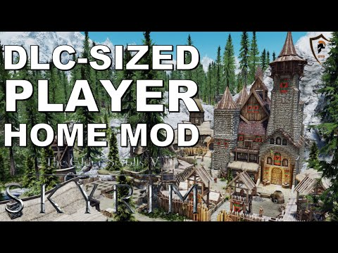The Best Player Home Mod Ever In The Elder Scrolls V: Skyrim Special Edition
