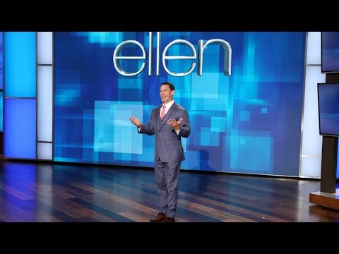 John Cena Hosts EllenMania 35