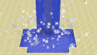 Waterfall Effects in Minecraft