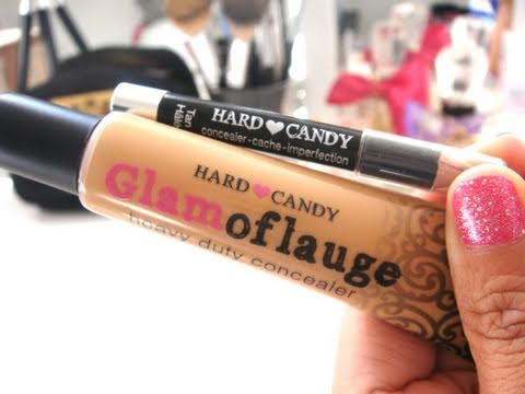 Review: Hard Candy's Glamoflauge Heavy Duty Concealer - YouTube