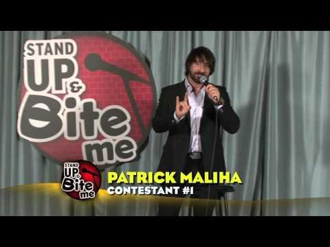 Patrick Maliha - Stand Up & Bite Me Round 1 Contestant 1
