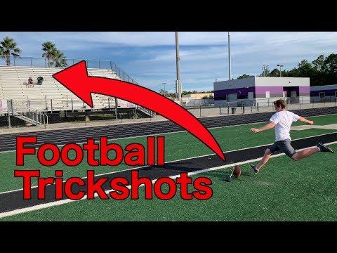 FOOTBALL TRICKSHOTS!! One