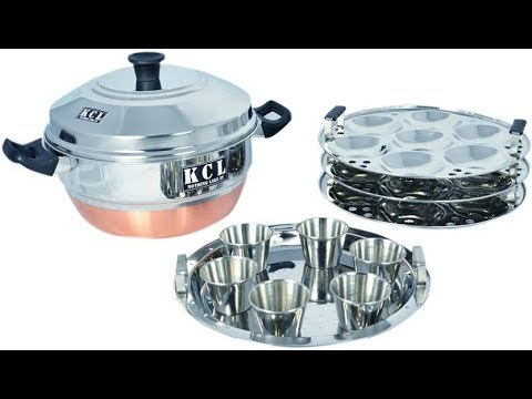 KCL Standard Idli Maker  (4 Plates )/copper base