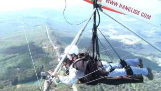 Cayla Hang Gliding @ Lookout Mountain - 1st Tandem