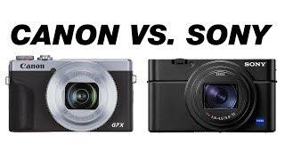 Best Vlogging Camera 2019? Canon G7X Mark III VS. Sony RX100 VII