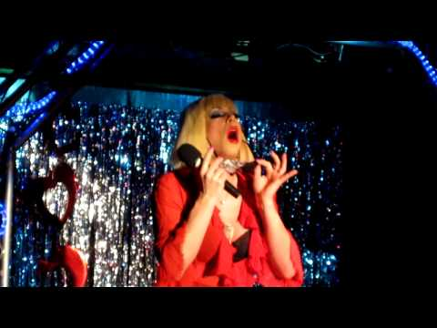"Sherry Vine Performs ""Poke My Face"" Lady GaGa Parody At The Monster"