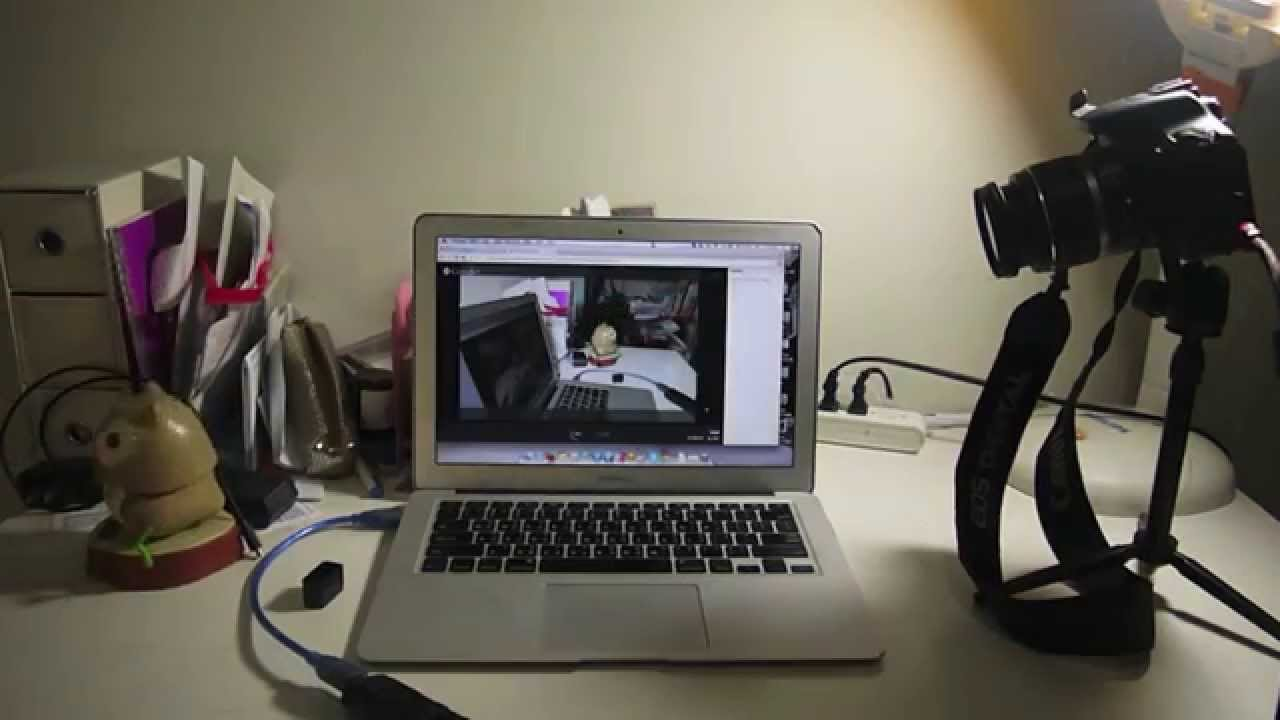 How to use laptop camera as webcam