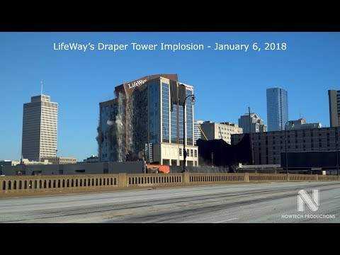 LifeWay Draper Tower Implosion