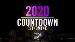 🎆 #2020 Countdown | Central European Time (CET GMT+1) | Music & Fireworks | deamvieLIVE