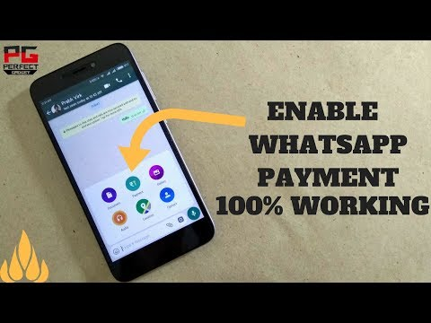 How to get UPI PAYMENT in WhatsApp! [WORKING]