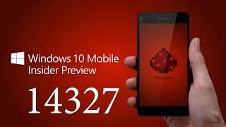 сборка Windows 10 Mobile 14327