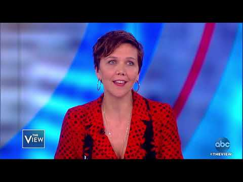 """Maggie Gyllenhaal on family, new movie, """"The Deuce"""" & more"""