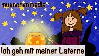 Kinderlieder deutsch - Ich geh mit meiner Laterne - Kinderlieder zum Mitsingen - Sankt Martin