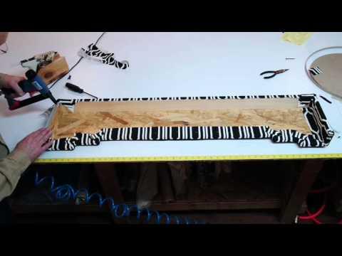 How to make a step cornice (step 6)