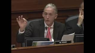 Rep. Gowdy Questions FBI Director Comey