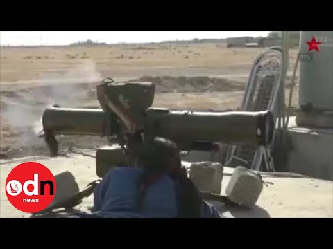 Turkish Forces Clash with Kurdish Women's Militia in Syria