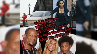 Wendy Williams F!RES Kevin REP0SSES Ferrari He Gave Sharina Even After His AP0L0GY