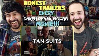 Honest Trailers  -  EVERY CHRISTOPHER NOLAN MOVIE -  REACTION & ANALYSIS!!!