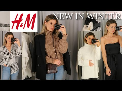 NEW IN H&M | COME SHOPPING WITH ME | AUTUMN/FALL WINTER HAUL