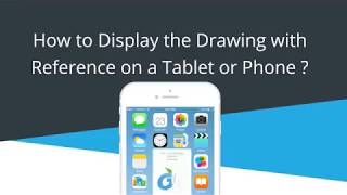 Tutorial   How to Display the Drawing with Reference on a Tablet or Phone with DWG Fastview?