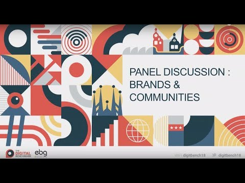 PANNEL DISCUSSION  BRAND & COMMUNITIES