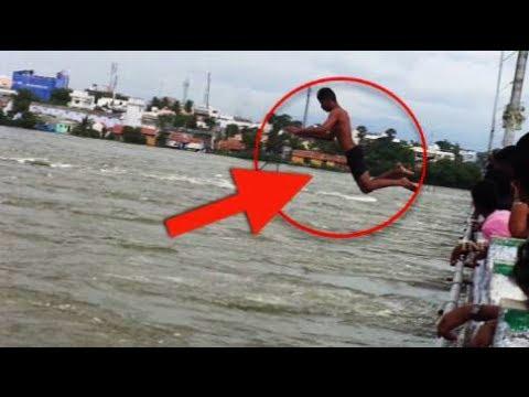 What Happened in  Bhavani Bridge jumping at 1,50,000 Cubic Feet of Water?