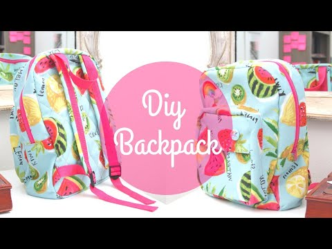 DIY BACKPACK For Kids | Sewing Tutorial by Paige Handmade