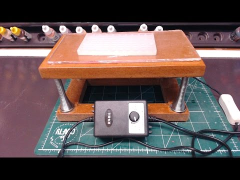 How To Build A Small vibrating table