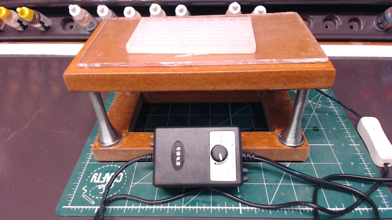 How to make a vibrating table with your own hands