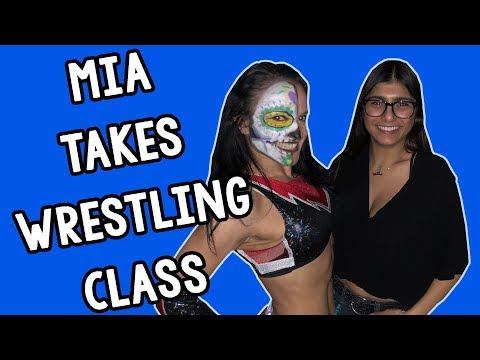 Wrestling Training with Thunder Rosa