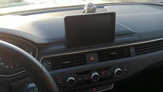 Audi a4 b9 глюки магнитолы отзыв владельца