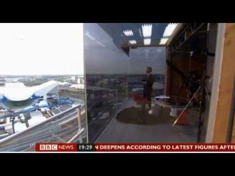 BBC News Channel Olympic Studio Look Around