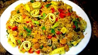 How to make Chinese Chicken Fried Rice | Indian Style Fried Rice Recipe