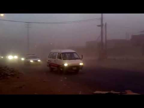 Fuertes Vientos con arena y lluvia sorprenden a Tacna  1