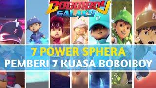 Mengungkap 7 Power Sphera Dibalik 7 Kuasa BoboiBoy | BOBOIBOY GALAXY #misteriboboiboygalaxy