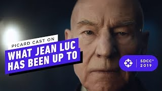 Picard Cast on What Jean Luc Has Been Up To - Comic Con 2019
