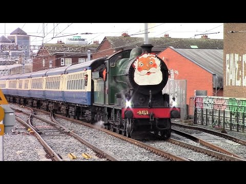 RPSI Santa Specials Steam and Diesel - 2016