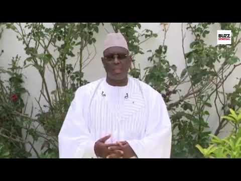 Tabaski 2021: Le Message du Pr. Macky SALL«bi moy 2eme tabaski ak Covid, magui niaane ñeup niou…»