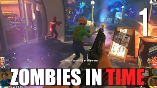 [1] Zombies in Time (Let's Play Call of Duty: Infinite Warfare Zombies w/ GaLm and friends)