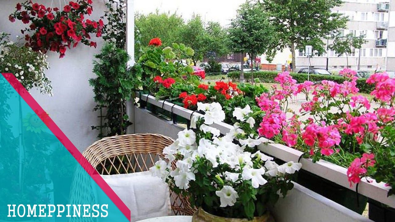 how to make garden in small balcony