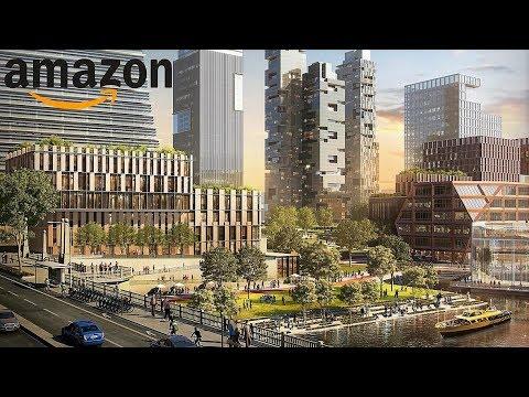 Chicago's New $5 Billion Neighborhood Plans to Host Amazon