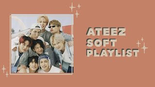 Ateez soft playlist (chilling, studying)