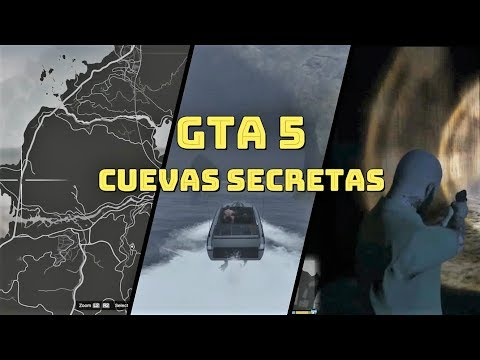 5 CUEVAS SECRETAS DE GTA5 (Lugares Secretos De GTA)