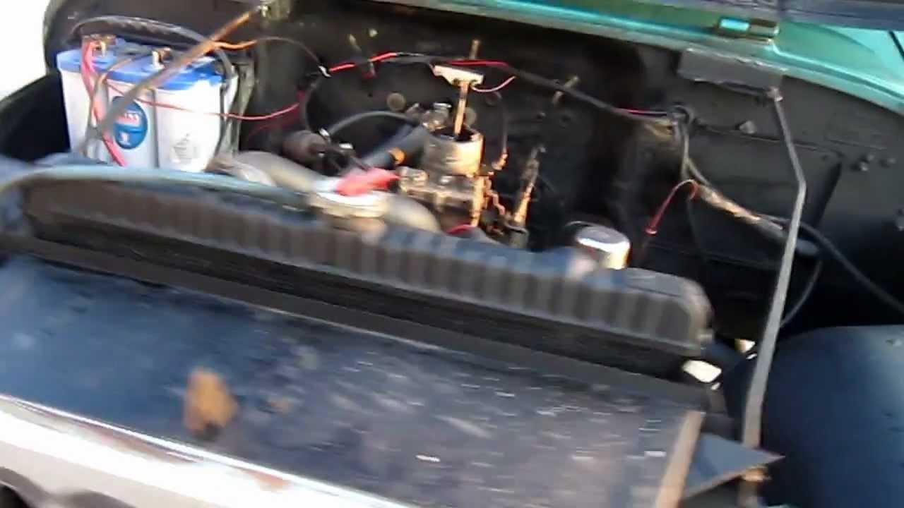 1971 jeep cj5 dauntless v6 225 running youtube. Black Bedroom Furniture Sets. Home Design Ideas