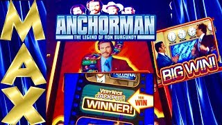 ★ANCHORMAN SLOT★MAX BET★LAST SPIN SAVE! AMAZING★SLOWPOKESLOTS IN DA HOUSE!★ LAS VEGAS SLOTS!