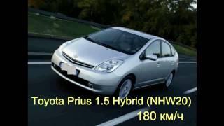 Тест-драйв Toyota Prius 1,5 разгон до 180 км/ч