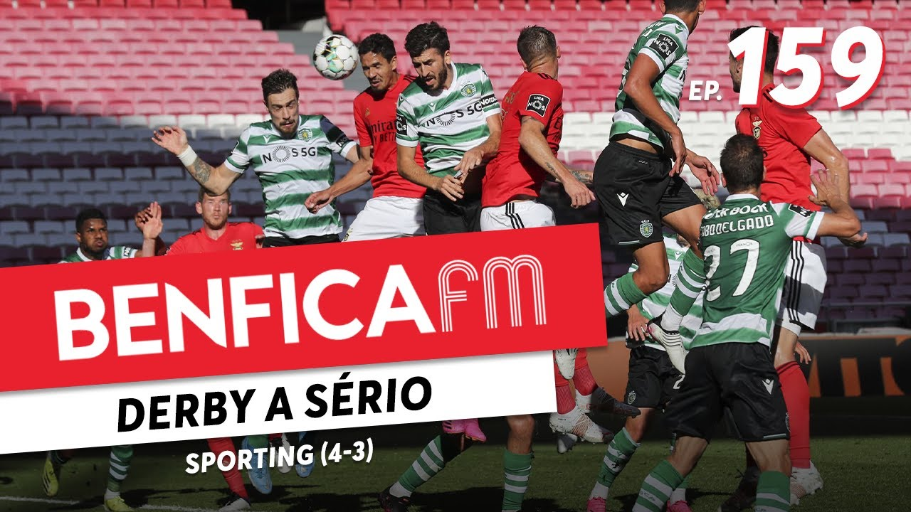 Benfica FM #159 - Sporting (4-3)