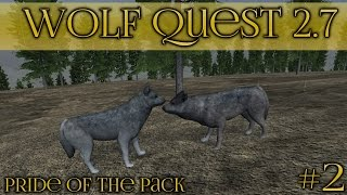 A Story of Storms & Bears || Wolf Quest 2.7 - Pride of the Pack || Episode #2
