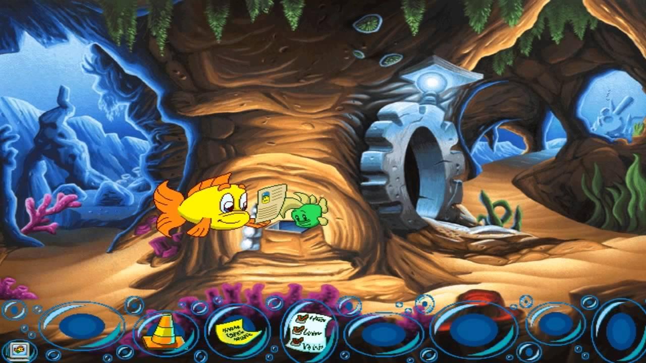 Freddi fish 5 the case of the creature of coral cove part for Freddi fish 5