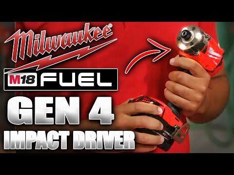 New Milwaukee M18 FUEL GEN 4 Impact Driver HAS BEEN REVEALED!